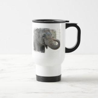 Trumpeting Elephant Travel Mug