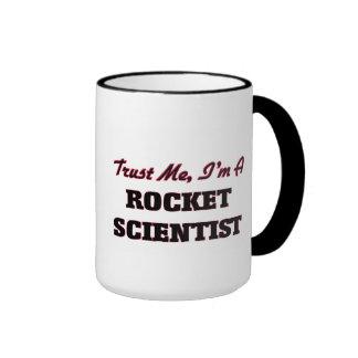 Trust me I'm a Rocket Scientist Ringer Mug