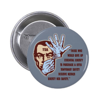 TSA - Essential Liberty 6 Cm Round Badge