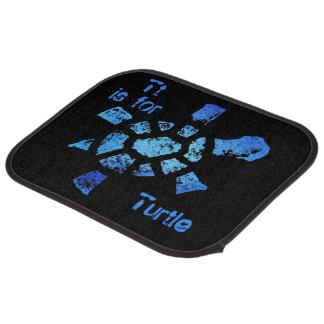 Tt is for Turtle Car Mat