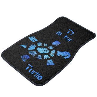 Tt is for Turtle Floor Mat