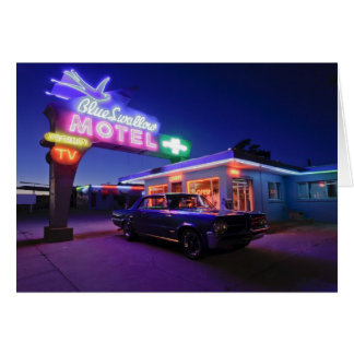 Tucumcari, New Mexico, United States. Route 66 2 Greeting Card