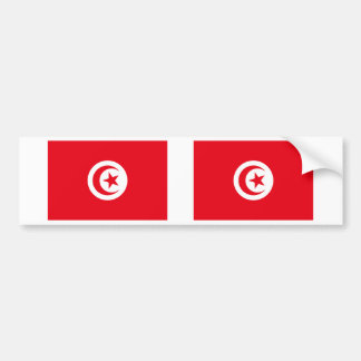 Tunisia Flag Bumper Sticker