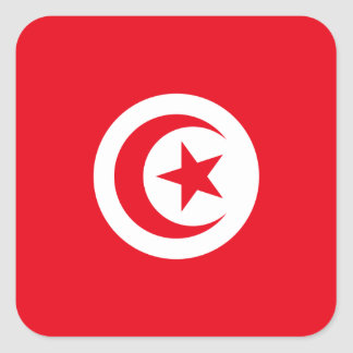 Tunisia Flag Sticker