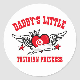 Tunisian Princess Designs Round Sticker
