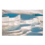 Turkey, Pamukkale Cotton Castle). Art Photo