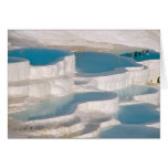 Turkey, Pamukkale Cotton Castle). Greeting Card