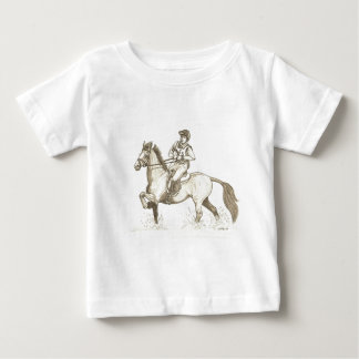 TURN IN THE WATER Eventing Horse Art Shirt