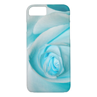 Turquoise Ice Rose iPhone 7 Case