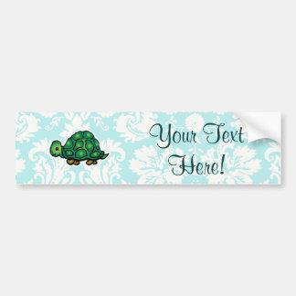 Turtle; Cute Bumper Sticker