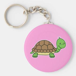 Turtle keychain pink