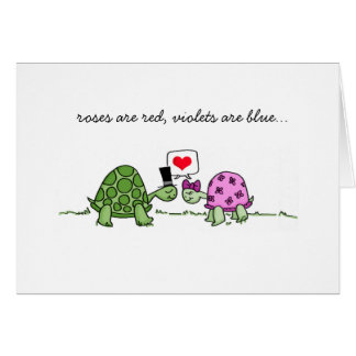 Turtle Love - Valentine's or Anniversary Card