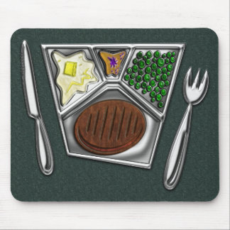 TV Dinner Knife and Spork Mouse Pad