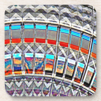Tv Tower (Fernsehturm), Berlin, Artistic (tv15emb) Drink Coaster