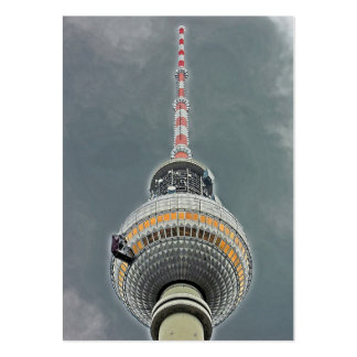 Tv Tower (Fernsehturm), Berlin (tv2) Pack Of Chubby Business Cards