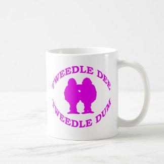 Tweedle Dee & Tweedle Dum Basic White Mug