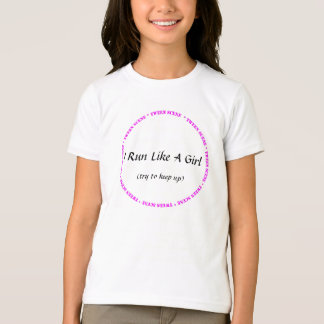 Tween Scene - I Run Like a Girl Shirt