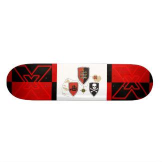 Twenty five custom skate board