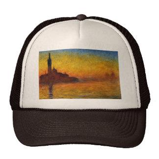 Twilight, Venice by Claude Monet Cap