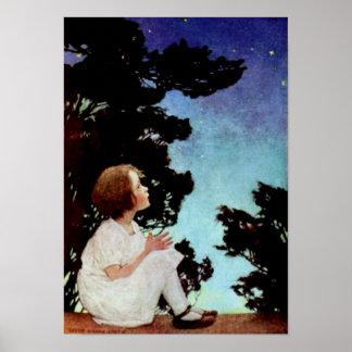 """""""Twinkle, Twinkle Little Star"""" Poster"""