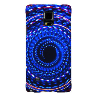 Twirling spiral light spin cycle galaxy note 4 case