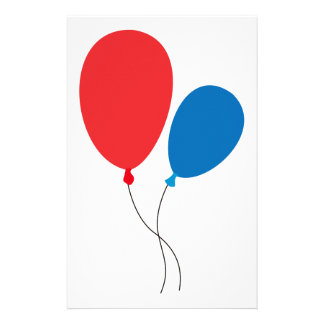 Two Ballons Stationery Design