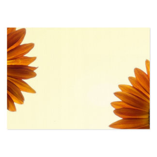 Two Bashful Sunflowers Pack Of Chubby Business Cards