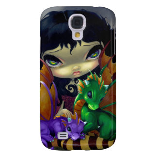 """Two Cute Dragonlings"" iPhone 3 Case"