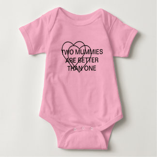 TWO MUMMIES ARE BETTER THAN ONE T SHIRTS