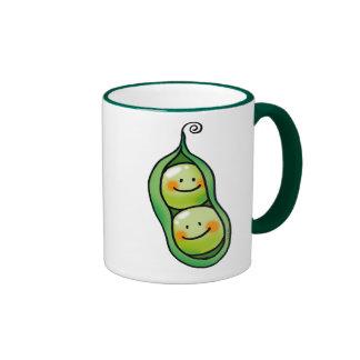 Two peas in a pod ringer mug