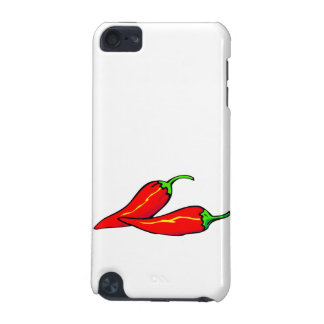 Two Red Chili Peppers on Side iPod Touch (5th Generation) Covers