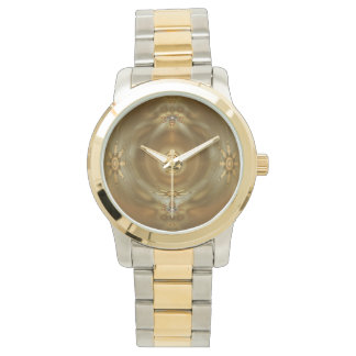 Two-Tone with Gold and Silver Tone Watch