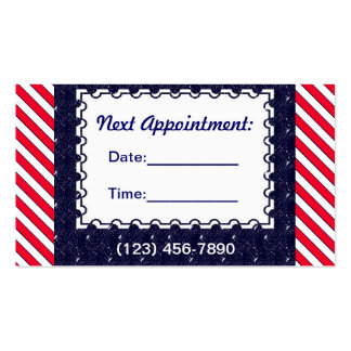 U.S. Patriotic Celebration of National Holidays Pack Of Standard Business Cards