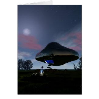 UFO Cattle Mutilation Card