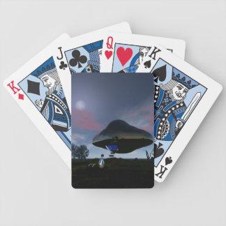 UFO Cattle Mutilation Poker Cards