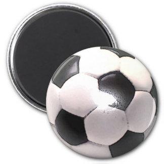 UK Football Ball 6 Cm Round Magnet