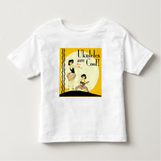 Ukes are Cool! Toddler light short sleeve T-Shirt