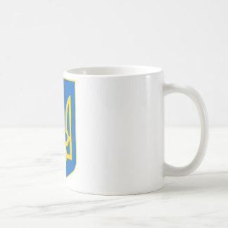 Ukraine Lesser Coat Of Arms Basic White Mug