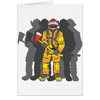 Ultimate Firefighter Greeting Card