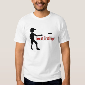 Ultimate Frisbee Love at First Flight T Shirts