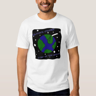 Ultimate Frisbee Out of this World Tshirts