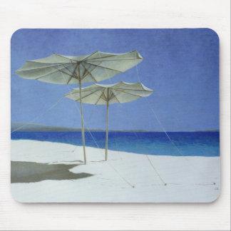 Umbrellas Greece 1995 Mouse Pad