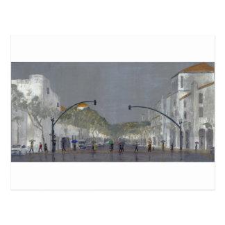 Umbrellas On Chapala Postcard