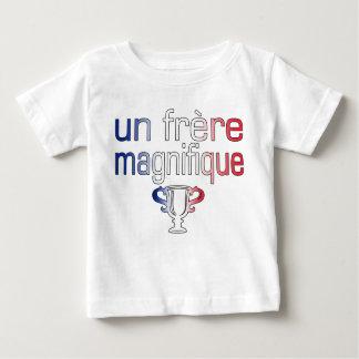 Un Frère Magnifique France Flag Colors T-shirt