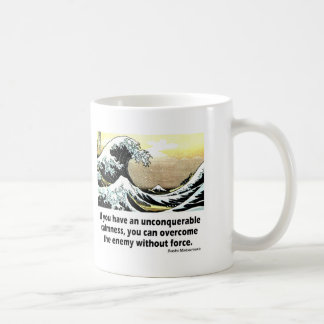 Unconquerable Calmness Basic White Mug
