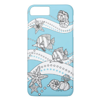 Under the Sea: DYI Coloring by Sonja A.S. iPhone 7 Plus Case