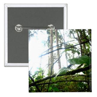 Underbrush 15 Cm Square Badge