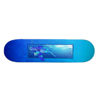 Underwater Sea Turtle Skate Board Decks
