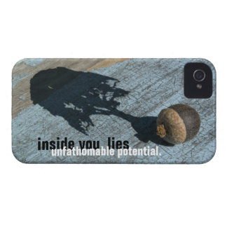 """unfathomable potential"" iPhone4 Case-Mate ID CASE"