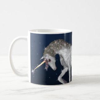 Unicorn Sparkles Basic White Mug